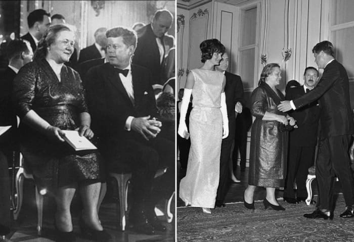 Первая леди СССР и президент США | Фото: iledebeaute.ru